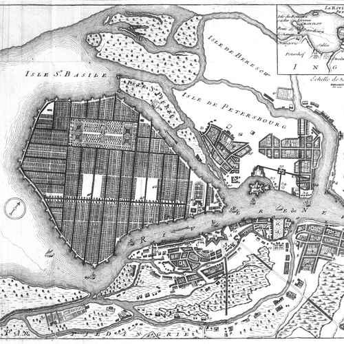 Санкт петербург 18 век