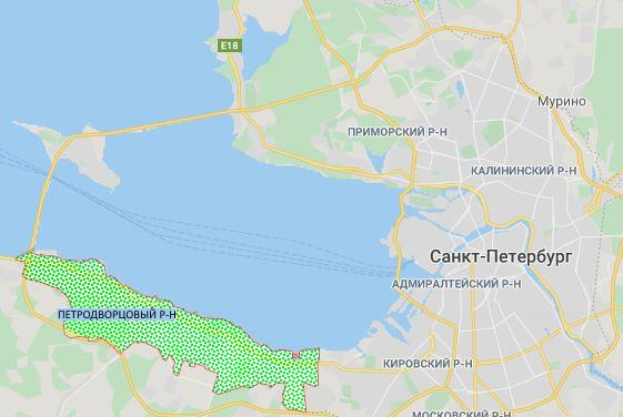 Петродворцовый район