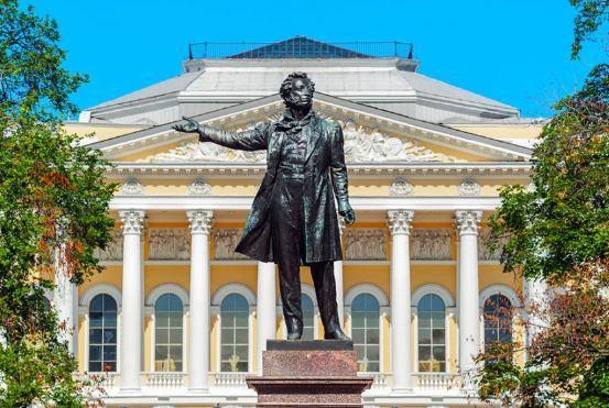 Пушкин Петербург