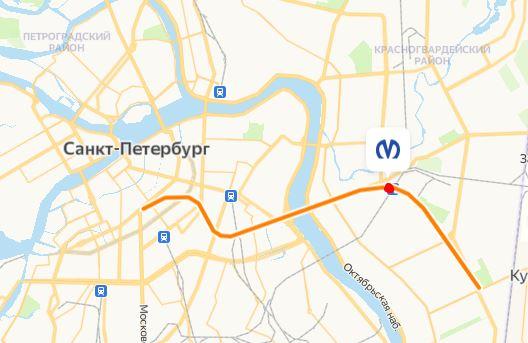 метро Ладожская Санкт Петербург