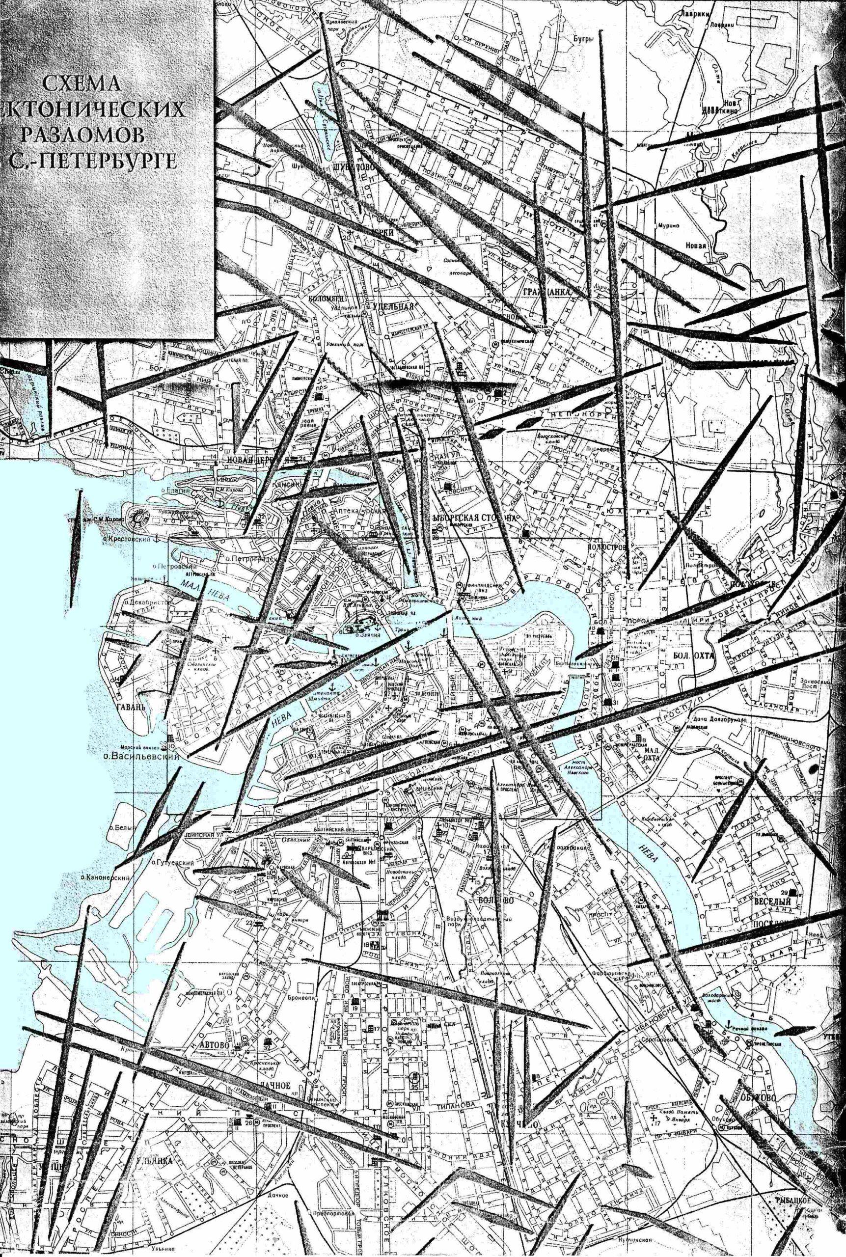 Геопатогенная зона Санкт-Петербурга