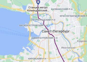 метро Комендантский проспект