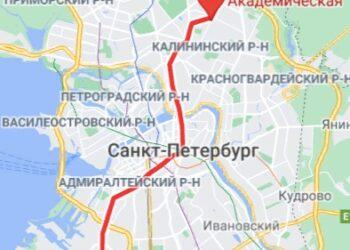 метро АкадемическаяСПБ район