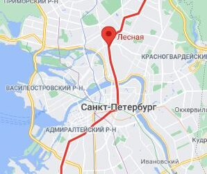 станция метро Лесная СПБ