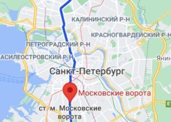 метро Московские ворота район СПБ
