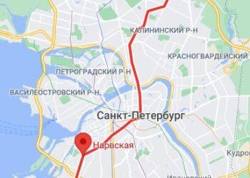 метро Нарвская район СПБ