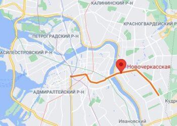 станция метро Новочеркасская Санкт Петербург