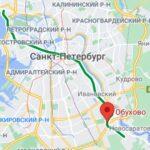 метро Обухово район СПБ