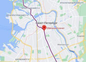 метро Обводный канал район СПБ