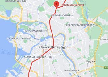 метро Политехническая СПБ