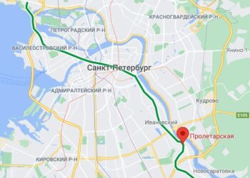Станция метро Пролетарская Санкт Петербурга