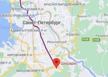 Станция метро Шушары СПБ
