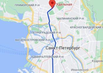 Станция метро Удельная район СПБ