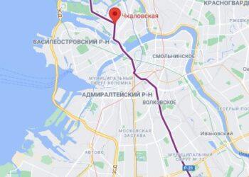 район метро Чкаловская СПБ