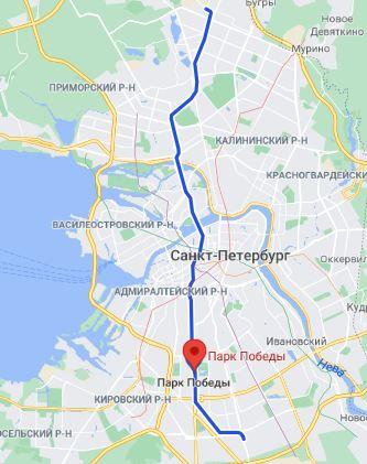 метро Парк Победы Санкт Петербург