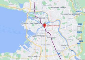 метро Адмиралтейская СПб