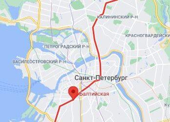 метро Балтийская СПБ