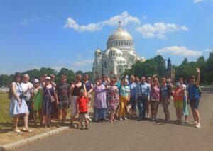 Экскурсия гид СПБ Татьяна Банина