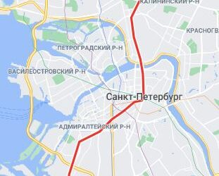 район метро Ленинский проспект СПБ