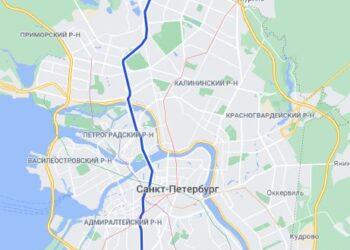 район метро Проспект Просвещения СПБ