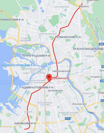 район Звенигородская Пушкинская метро СПБ
