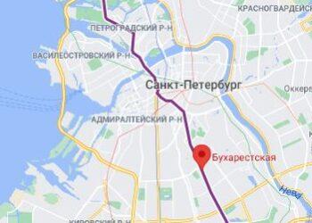 район метро Бухарестская СПБ