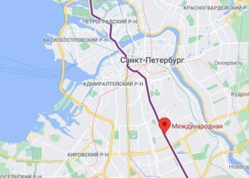 район метро Международная СПБ