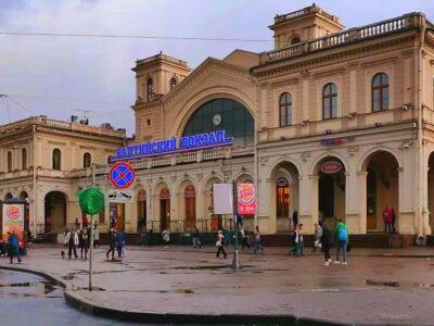 Балтийский вокзал СПб