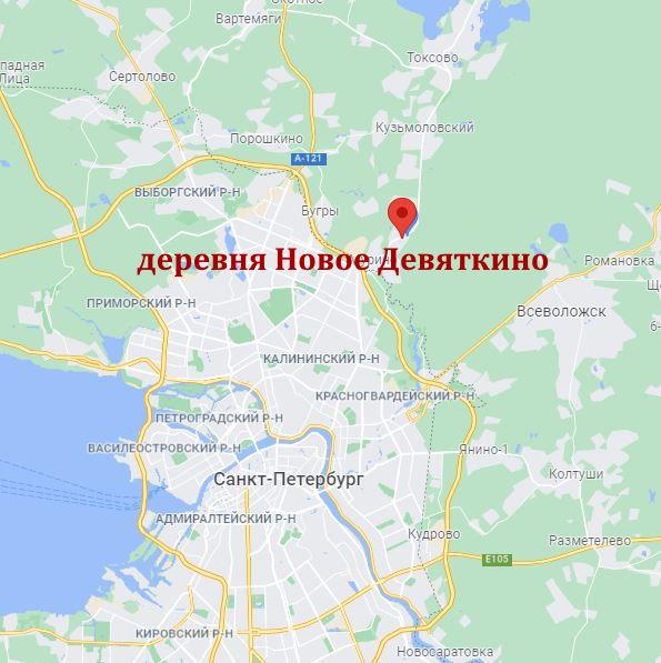 Деревня Новое Девяткино