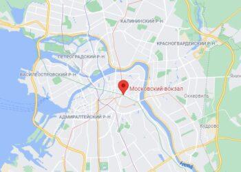 Московский вокзал СПб